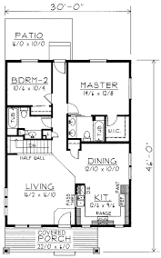 cottage style house plan 3 beds 2 5 baths 1492 sq ft plan 450 1 download 1200 square feet home intercine sqft 2 bedroom house