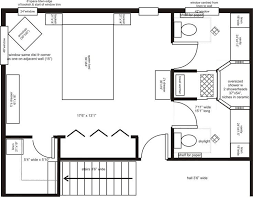 master suite floor plan his and bathroom layouts search master suite