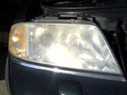 audi a6 headlights hazy headlight restoration audiforums com