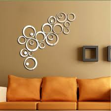 Mirrored Wall Decor by Round Mirror Wall Decor Shenra Com