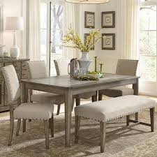 terrific dining room sets with bench and chairs 64 on dining room
