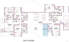 4675 sq ft 4 bhk floor plan image marvel realtors diva 2