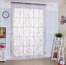 2017 fancy glitter sequins string curtain panels for door window