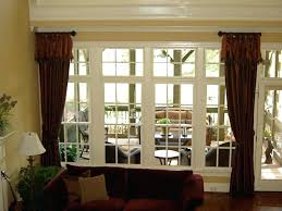 window treatments for large windows curtains for large windows house design