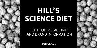 hill u0027s science diet recall info petful