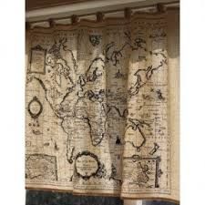 Shower Curtain Map Map Shower Curtain Foter