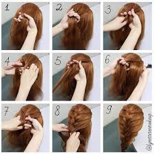 hairstyles for long hair braids steps google search hair and