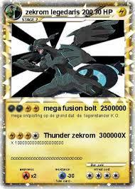 mega zekrom pokemon card ex images pokemon images