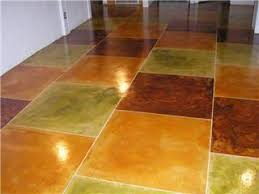 Painted Concrete Basement Floor by Paint For Cement Floors U Design Blog