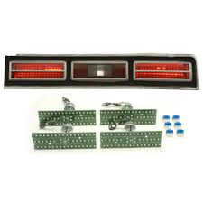 dakota digital led tail lights 1974 1976 chevy impala led tail lights dakota digital lat nr411