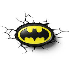 3d Lamps Amazon Amazon Com Batman Logo 3d Led Wall Light Home U0026 Kitchen