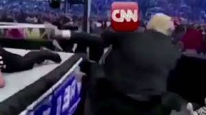 Meme Video Creator - donald trump cnn wrestling video meme creator apologises