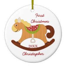 rocking ornaments keepsake ornaments zazzle
