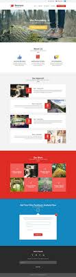 single page brochure templates psd free corporate and business web templates psd