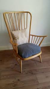 Ercol Armchair Cushions Ercol Armchair Painted With Cushions Our Home Pinterest