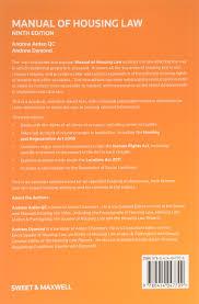 manual of housing law amazon co uk andrew arden andrew dymond