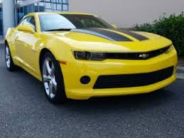 yellow chevy camaro for sale used 2014 chevrolet camaro for sale carmax