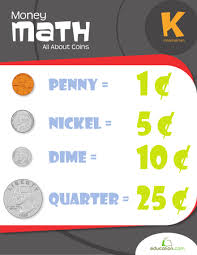 money math all about coins workbook education com