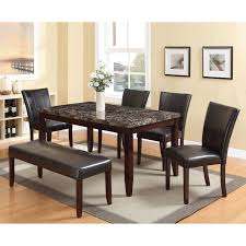acme dining room furniture acme furniture idris dining table walmart com