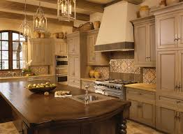 Panda Kitchen And Bath Orlando by Two Color Grey And Crème Kitchen Cabinets Mediterranean