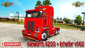 kenworth technical support kenworth k200 interior v14 0 v1 5 x for ats zagruzka mods