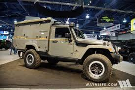 sema jeep for sale 2017 sema aev outpost ii jeep jk wrangler camper
