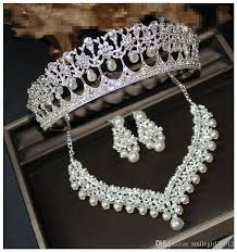 vintage wedding necklace images Wholesale vintage wedding prom bridal accessories rhinestone jpg