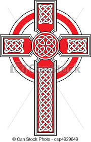 celtic cross with detailed ornaments eps vectors search clip