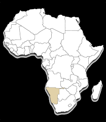 africa map kalahari africa outline map namibia eye see africa