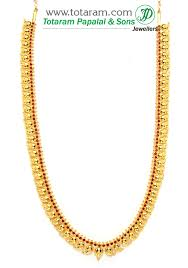 red stones gold necklace images 22k gold mango mala necklace with red stones 235 gn721 in 64 850 jpg