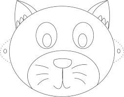 coloring cute face mask printable animalmasks bunny