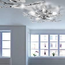 Led Deckenbeleuchtung Wohnzimmer Led Deckenleuchte Vida Aus Chrom Lampen U0026 Möbel Innenleuchten