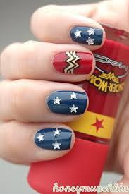 wonder woman nail art image collections nail art designs
