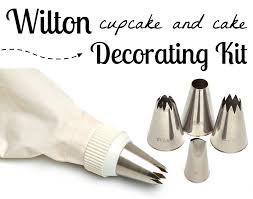 Wilton Cupcake Decorating Wilton Cupcake U0026 Cake Decorating Set Gourmet Cookie Bouquets