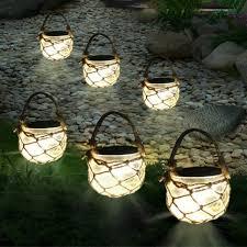 solar powered fairy lights for trees thrisdar 3pcs mason jar solar garden fairy light retro outdoor