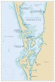 Map Of Sarasota Florida by Barton U0026 Gray Mariners Club
