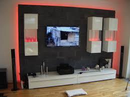 Naturstein Deko Wohnzimmer Tv Wand Selber Bauen 80 Kreative Vorschläge Archzine Net