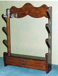 American Furniture Classics Gun Cabinet by Ready To Assemble 4 Gun Wall Mount Horizontal Gun Display W Lock