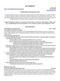Cto Resume Example by Vp Software Engineering Resume Contegri Com
