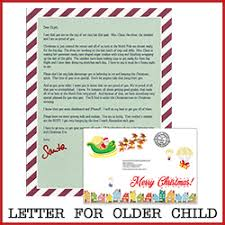 santa claus letters santa letters letters from santa claus