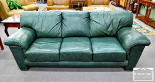 furniture home roche bobois green leather sofa 6new design