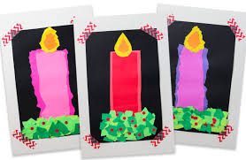 blog easy christmas candle craft for kids great for advent too