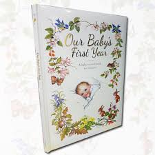 baby 1st year book our baby s year a baby record book to treasure by yvonne