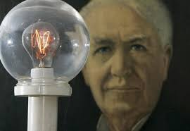 how did thomas edison invent the light bulb thomas edison s patents protected his ideas shareamerica