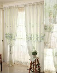 tende per sala da pranzo speciale bianco e verde foglia stile sala da pranzo tende