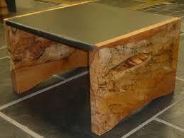 slate wood coffee table slate seating wood and slate tables images