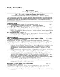 Sample Resume Of Experienced Mechanical Engineer by Navy Nuclear Engineer Sample Resume Haadyaooverbayresort Com