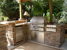 Kitchen Design On A Budget Rustic Outdoor Kitchen Designs Akioz Com