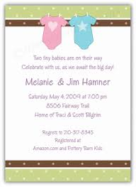 twins baby shower invitations u2013 frenchkitten net