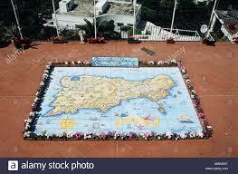 Map Of Capri Italy by Map Of Capri Made From Ceramic Tiles On A Balcony Capri Italy